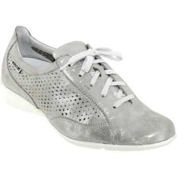 Zapatos Mujer Zapatillas bajas Mephisto Val perf cuero gris