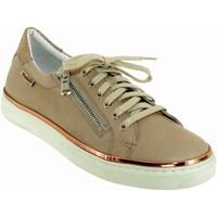 Zapatos Mujer Zapatillas bajas Mobils By Mephisto Elorine Cuero beige
