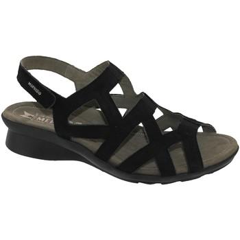 Zapatos Mujer Sandalias Mephisto Pamela Nobuck negro