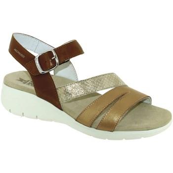 Zapatos Mujer Sandalias Mephisto Klarissa Cuero marrón/dorado
