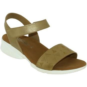 Zapatos Mujer Sandalias Mephisto Fabie Cuero dorado