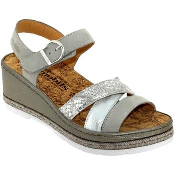Zapatos Mujer Sandalias Mobils By Mephisto Benita cuero gris