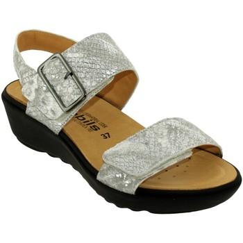 Zapatos Mujer Sandalias Mobils By Mephisto Folina cuero gris