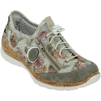 Zapatos Mujer Zapatillas bajas Rieker N42v1 Gris múltiple