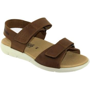 Zapatos Hombre Sandalias Mephisto Corado Cuero marrón
