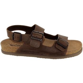 Zapatos Hombre Sandalias Mephisto Nardo Cuero marrón