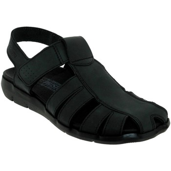 Zapatos Hombre Sandalias Mephisto Cesar Cuero negro