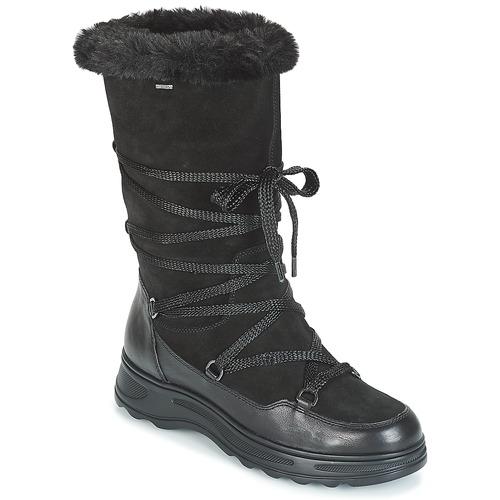 En particular Sur legumbres  Geox D HOSMOS B ABX Negro - Envío gratis   Spartoo.es ! - Zapatos Botas de nieve  Mujer 82,50 €