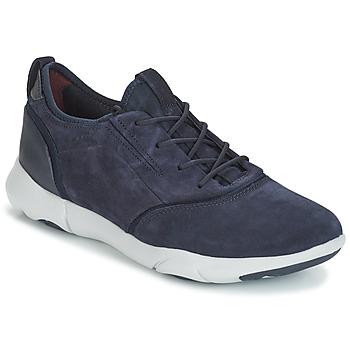 Zapatos Hombre Zapatillas bajas Geox NEBULA S Navy