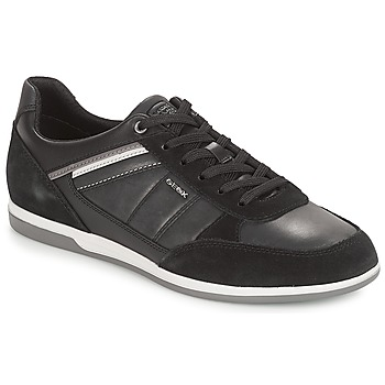 Zapatos Hombre Zapatillas bajas Geox U RENAN Negro