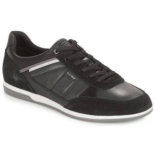 Zapatos especiales para hombres y mujeres Geox U RENAN Negro