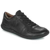 Zapatos Mujer Derbie Kickers HOME Negro