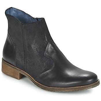Zapatos Mujer Botas de caña baja Kickers LIXY Negro