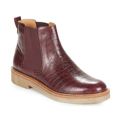 Descuento de la Kickers marca Zapatos especiales Kickers la OXFORDCHIC Burdeo ee8285