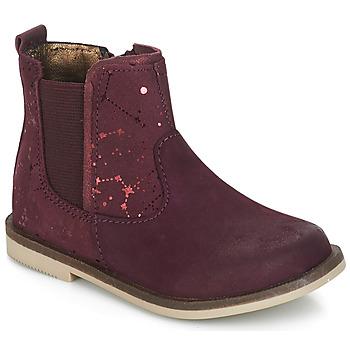 Zapatos Niña Botas de caña baja Kickers MOON Burdeo
