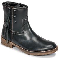 Zapatos Niña Botas urbanas Kickers MOLLY Negro