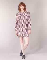 textil Mujer vestidos cortos Pepe jeans TRUDY Azul / Blanco / Rojo