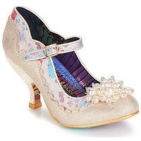 Zapatos Mujer Zapatos de tacón Irregular Choice Shoesbury Crema