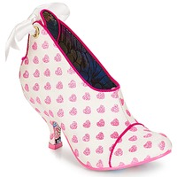 Zapatos Mujer Low boots Irregular Choice Love is all around Blanco / Rosa