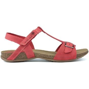 Zapatos Mujer Sandalias Interbios S  AFRODITA ROJO