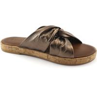 Zapatos Mujer Zuecos (Mules) Inuovo INU-E18-8254-BR Marrone