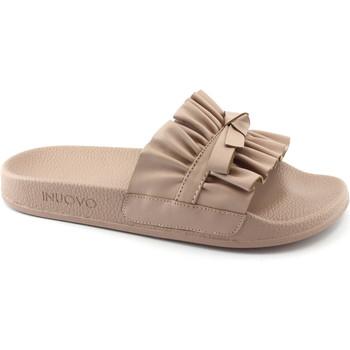 Zapatos Mujer Zuecos (Mules) Inuovo INU-E18-9209-BL Rosa