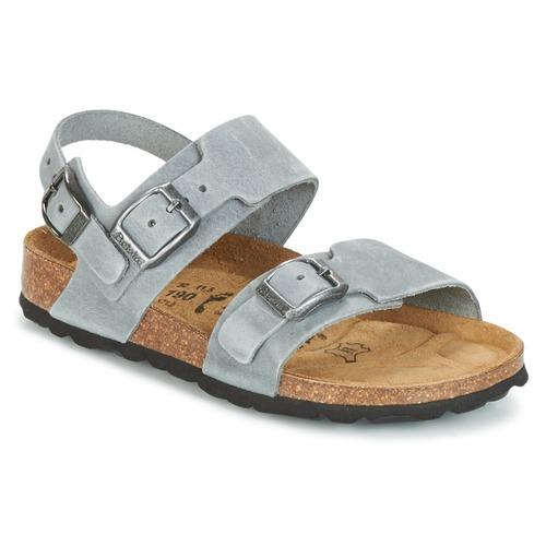 Zapatos Niño Sandalias Betula Original Betula Fussbett GLOBAL 2 Gris