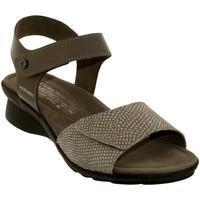 Zapatos Mujer Sandalias Mephisto Pattie Cuero topo
