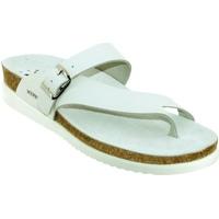 Zapatos Mujer Chanclas Mephisto HELEN Cuero blanco