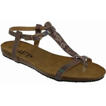 Zapatos Mujer Sandalias Plakton Mam zouk Rosa satinado