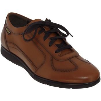 Zapatos Hombre Richelieu Mephisto Leonzio Cuero marrón claro