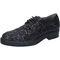 Zapatos Mujer Derbie & Richelieu Janet&Janet elegantes negro glitter BY753 negro