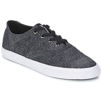 Zapatos Mujer Zapatillas bajas Supra WRAP Negro / Blanco