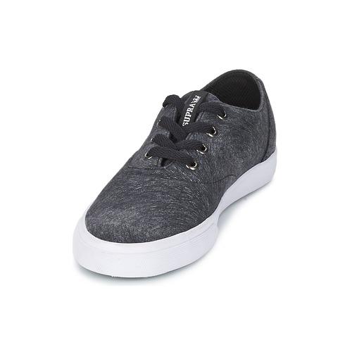 Supra Wrap NegroBlanco Zapatos Zapatillas Bajas Mujer QCBosxtrhd