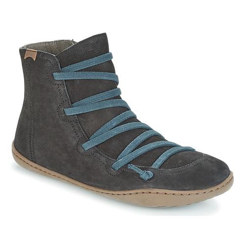 Los últimos zapatos de descuento para hombres y mujeres Camper PEU CAMI Negro - Envío gratis Nueva promoción - Zapatos Botas de caña baja Mujer  Negro