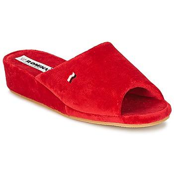 Zapatos Mujer Pantuflas Romika PARIS Rojo