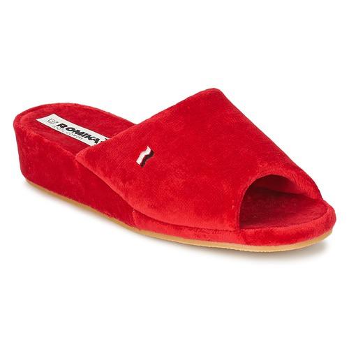 Zapatos Mujer Pantuflas Romika Westland PARIS Rojo