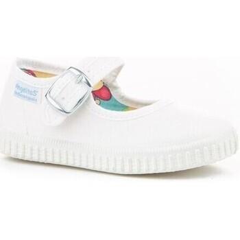 Zapatos Mujer Sandalias Cbp - Conbuenpie Sandalia de piel de mujer con cuña by BNK Blanco