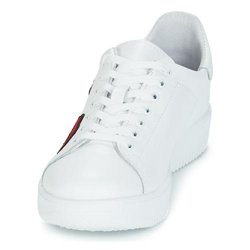 Blanco Bajas Mujer Zapatillas Zapatillas Bajas Mujer OXPiTZuk