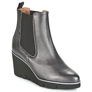 Zapatos Mujer Botas de caña baja Fericelli JERAMO Plata