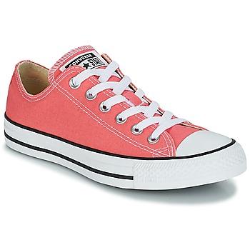 Zapatos Mujer Zapatillas bajas Converse CHUCK TAYLOR ALL STAR OX Naranja / Coral