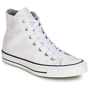 Zapatos Mujer Zapatillas altas Converse CHUCK TAYLOR ALL STAR HI Blanco / Blanco