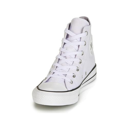 Nuevos zapatos para hombres y mujeres, descuento por tiempo limitado Converse CHUCK TAYLOR ALL STAR HI Blanco / Blanco - Envío gratis Nueva promoción - Zapatos Deportivas altas Mujer