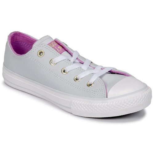 Zapatos Niña Zapatillas altas Converse CHUCK TAYLOR ALL STAR HI Pure / Acero / anís / Fucsia / Glow / Blanco