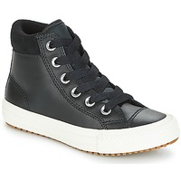 Zapatos Niños Zapatillas altas Converse CHUCK TAYLOR ALL STAR PC BOOT HI Negro / Blanco