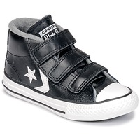 Zapatos Niños Zapatillas altas Converse STAR PLAYER 3V MID Negro / Mason / Vintage / Blanco