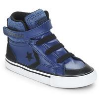 Zapatos Niño Zapatillas altas Converse PRO BLAZE STRAP HI Azul