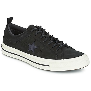 Zapatos Zapatillas bajas Converse ONE STAR LEATHER OX Negro