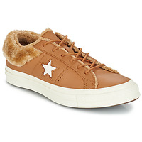 Zapatos Mujer Zapatillas bajas Converse ONE STAR LEATHER OX Camel