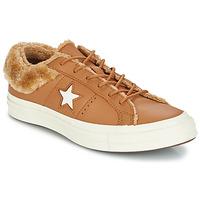 Zapatos Mujer Zapatillas bajas Converse ONE STAR LEATHER OX Camel